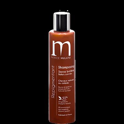 Mulato Shampooing Repigmentant Sienne Brûlée  Reflets cuivrés - 200 ml - Pour illuminer vos cheveux cuivrés