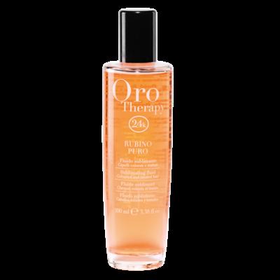 Oro Therapy 24k - Rubino Puro - 100 ml - Fluide lumière cheveux colorés