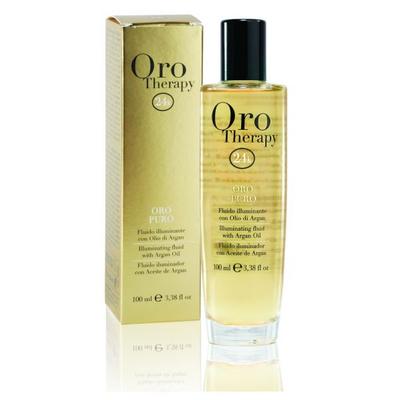 ORO Therapy 24k Argan - 100 ml - Puissant fluide embellisseur à l'or micro-actif et huile d'Argan