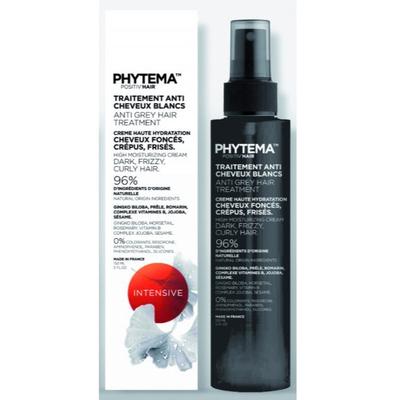 Phytema Positiv'Hair - Crème spray haute hydratation - 250 ml - Complexes anti-âge neutralisant cheveux blancs