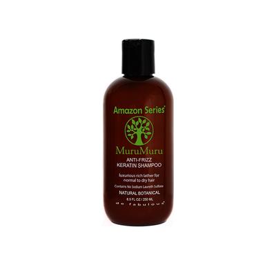 Amazon Secret MuruMuru Anti Frizz Keratin Shampoo - 250 ml - Puissant anti-oxydant pour vitalité et jeunesse du cheveu