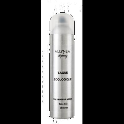 Allynea - Laque Volume Eco-Spray Sans Gaz - 350 ml - Volumateur et texturant à l'huile d'Argan