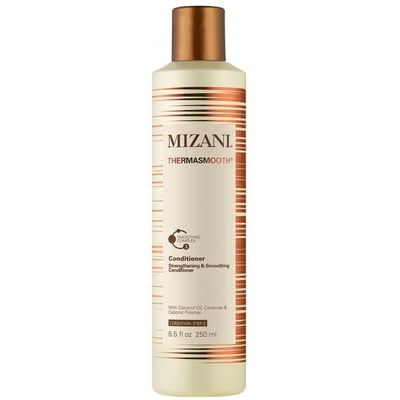 Mizani Thermasmooth anti frizz Conditioner - 250 ml - Soin lissant aux polymères cationiques et huile de coco pure