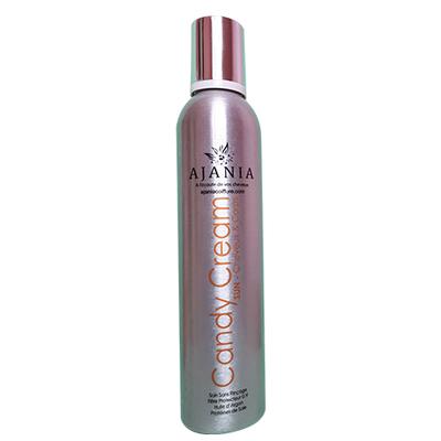 Ajania - Candy Cream - 350 ml - Crème fouettée hydratante Cheveux et corps