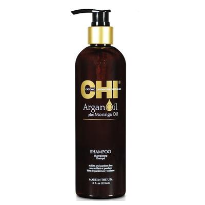 CHI Argan Oil - 355ml - Shampooing coup d'éclat Huile d'Argan et Huile de Moringa
