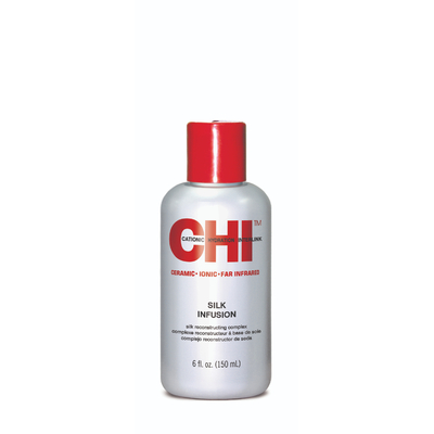 CHI Infra Silk Infusion - 50 ml - Sérum à l'extrait de soie pure, traitant et protecteur thermique