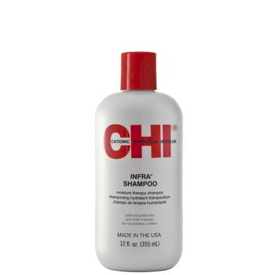 CHI Infra Shampoo Moisture Therapy - 300 ml - Shampooing aux protéines de soie pour hydrater et renforcer la fibre capillaire