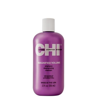CHI Magnified Volume shampoo- 355 ml - Shampooing aux protéines de soie et de blé, volumisant cheveux fins