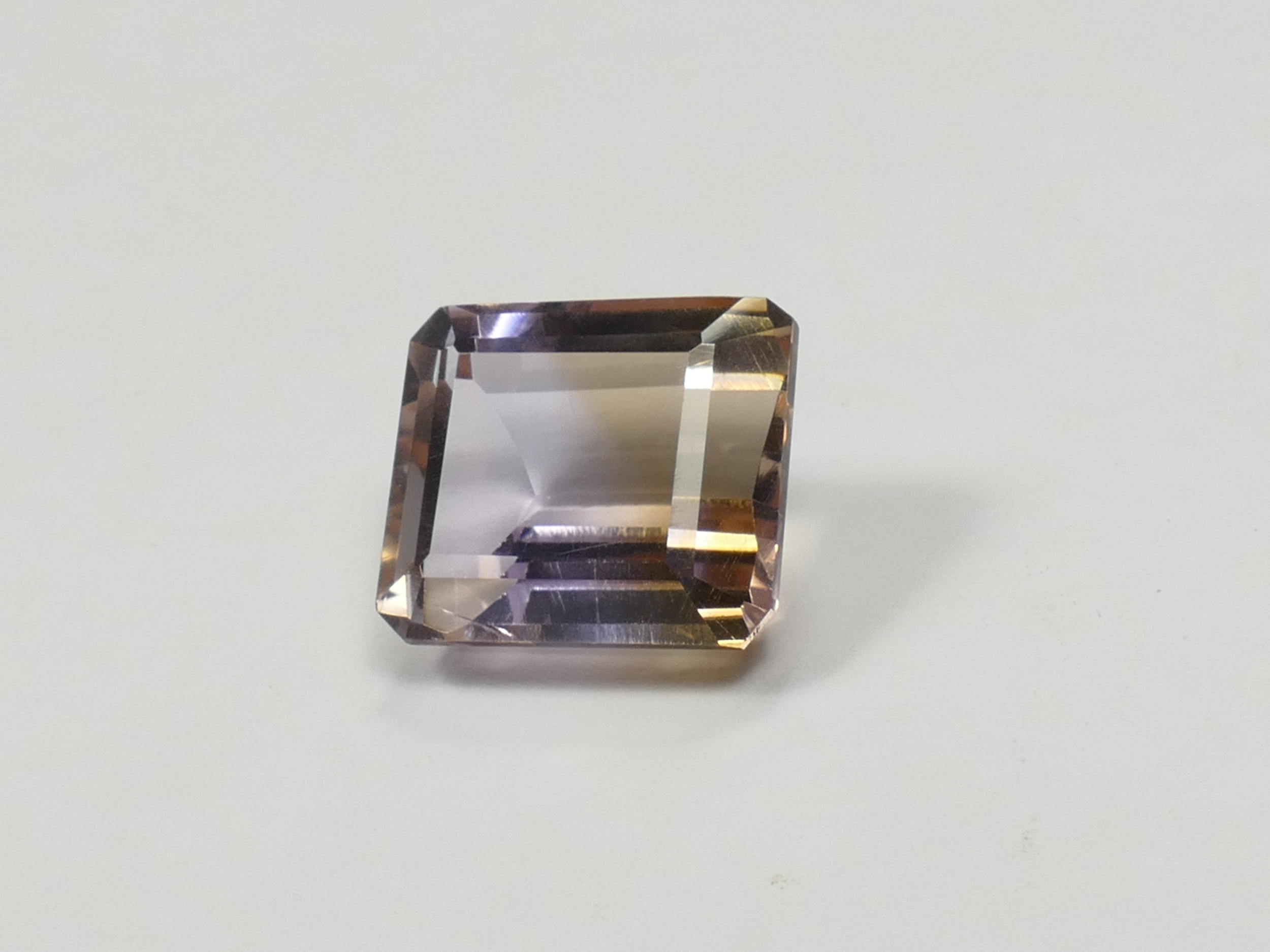 13.2x11.2mm 9ct VVS Amétrine naturelle facettée octogonale Bolivie (#PB547)