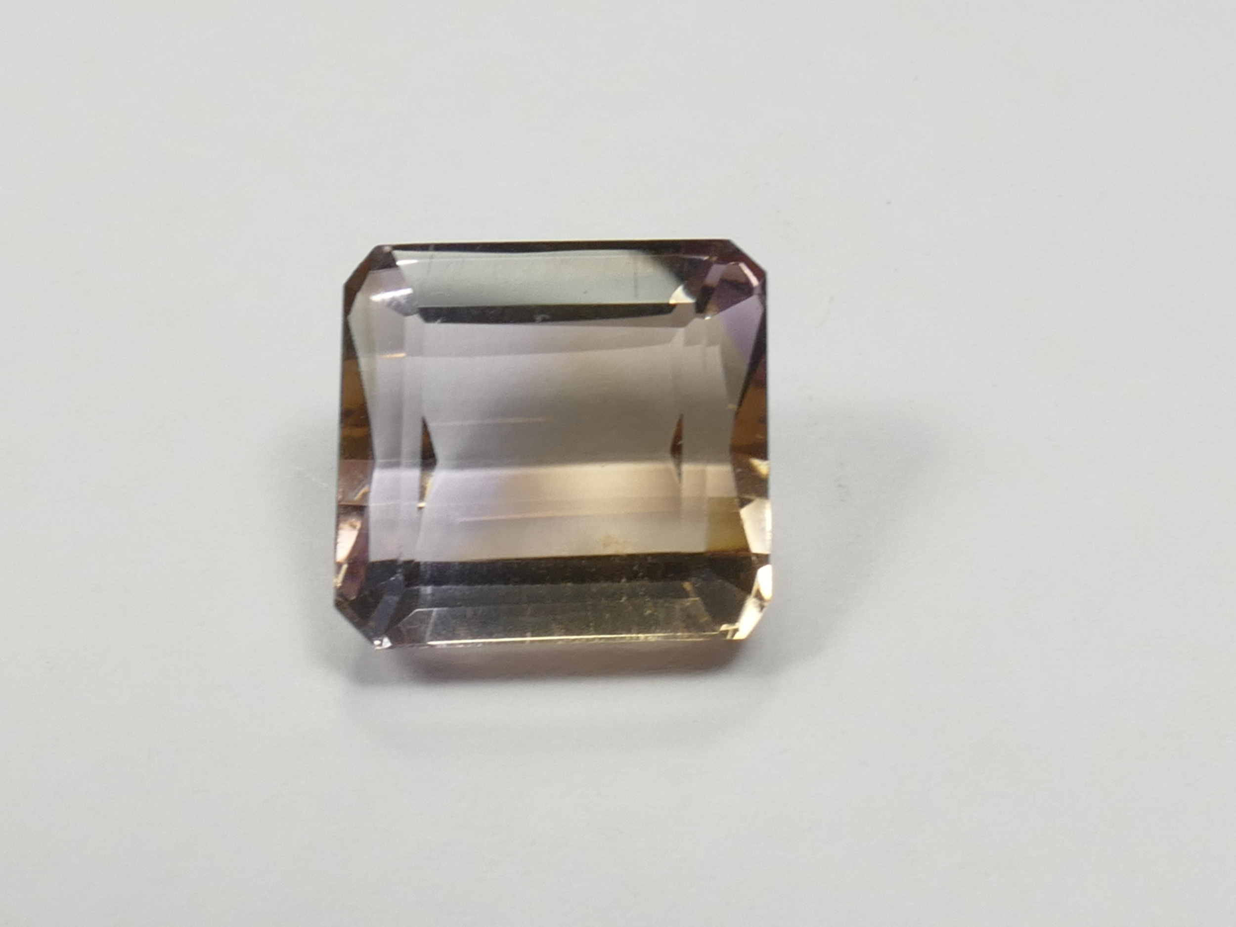 12x11.2mm VVS Amétrine naturelle facettée octogonale 7.67ct de Bolivie (#PB548)