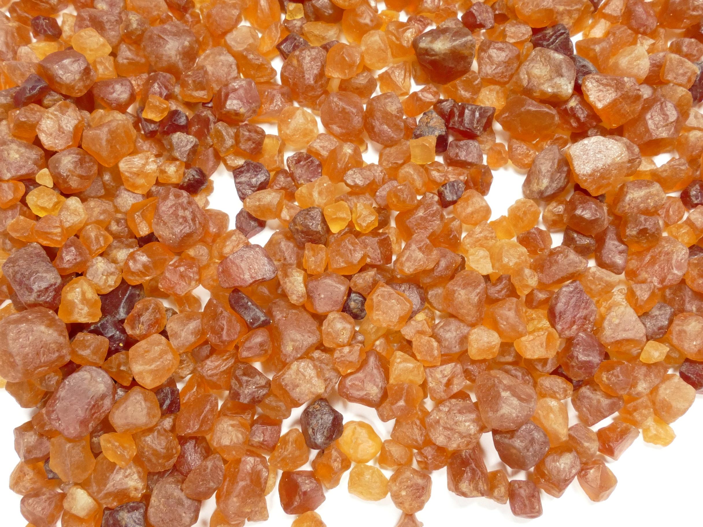 x50g de Grenat Spessartite naturel brut orange de Madagascar (#AC931)