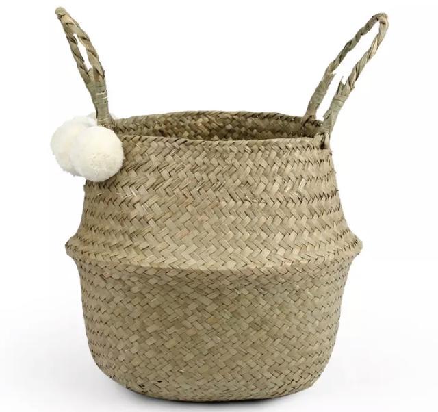 Panier boule à pompons