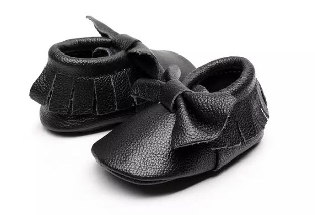 Chaussures bébé noeud