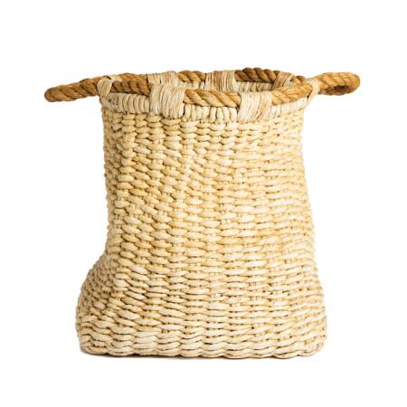 Panier abaca/sisal corde
