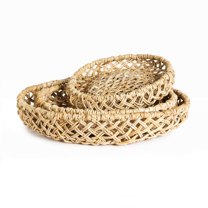 Plateaux bowl abaca