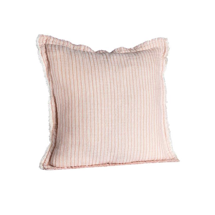 Housse de coussin coton et lin