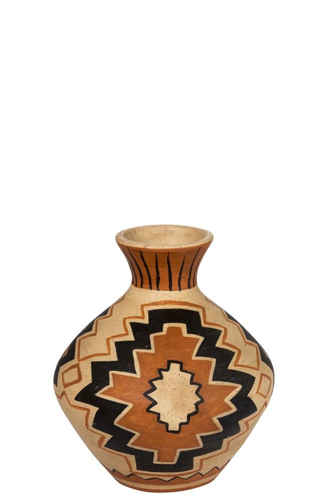 Vase Ethnique Terre Cuite