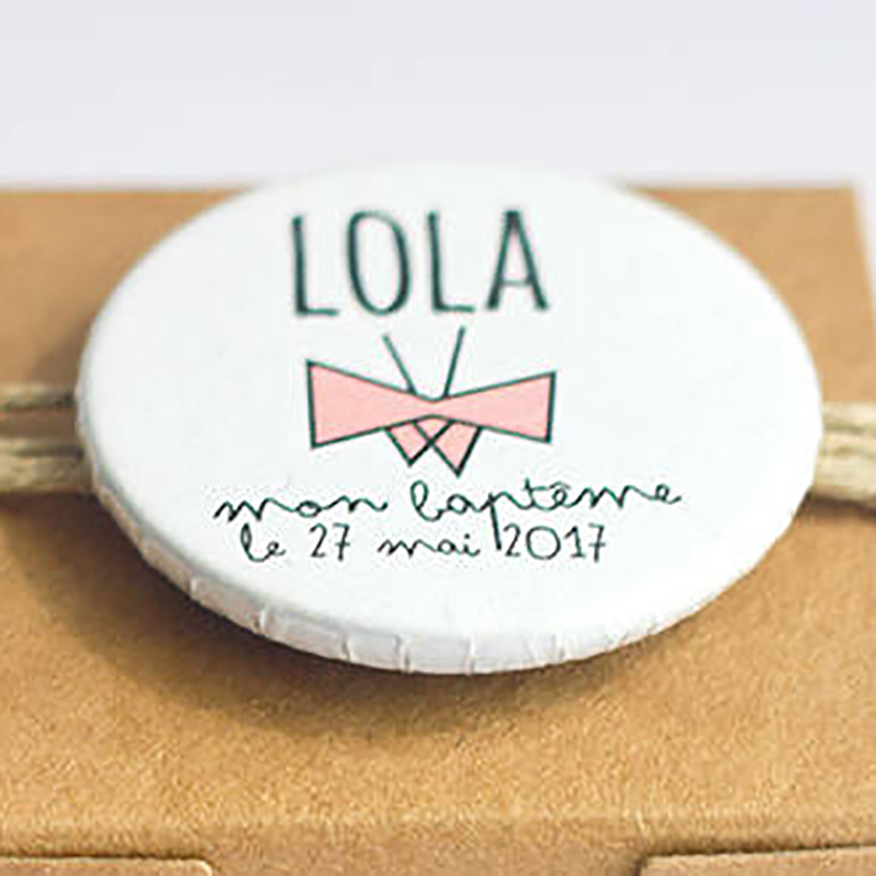 Badge Lola-Papillon