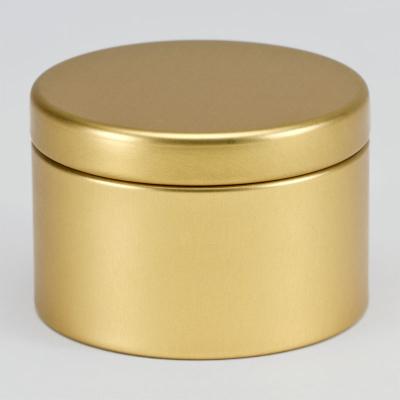 Boîte métal Or