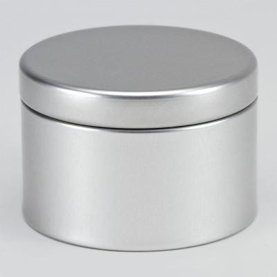 Boîte métal Argent