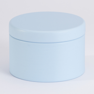 Boîte métal Bleu