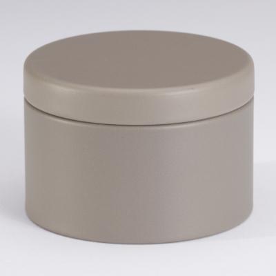Boîte métal Taupe