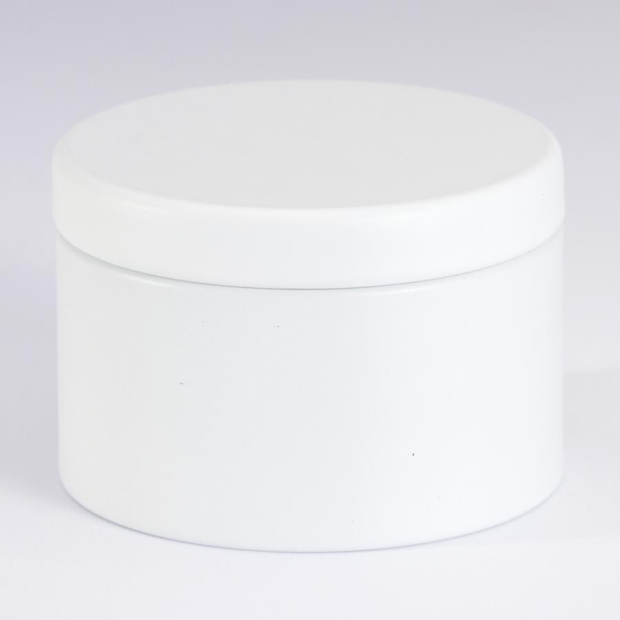 Boîte métal Blanche