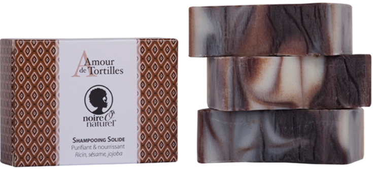 Organic Solid Shampoo Bar-  Hair Soap - Twisted Love -UN AMOUR DE TORTILLES