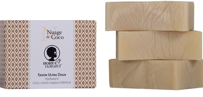 Organic Lipid-enriched Soap - Fragrance Free - Coco Clouds - Dry or Sensitive Skin NUAGE DE COCO