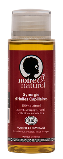 Organic Hair Oil Synegy 3 in 1 : Roots to tips Care 100% natural SYNERGIE D\'HUILES CAPILLAIRES