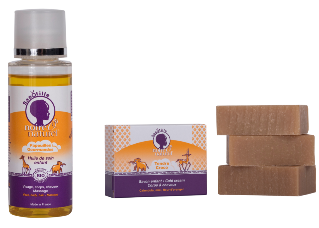 Sapotille Cleansing and hydrating Duo - for children