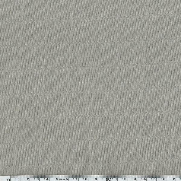 Tissu Lange Uni Coloris Taupe 20 X 140 Cm - Gabardine Et Tissus