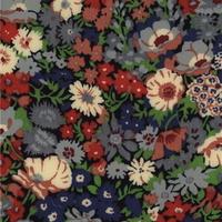 Liberty Thorpe rouge marine coloris K 20 x 137 cm