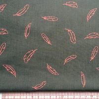 Flaming'Oh, poly/coton poivre gris 20 x 140 cm