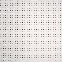 Vinyle laqué perforé blanc 20 x 45 cm