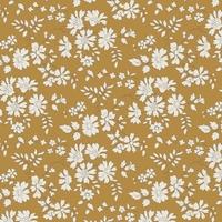 Liberty Capel moutarde coloris E 20 x 137 cm