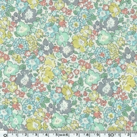 Liberty Michelle mint coloris B 20 x 137 cm