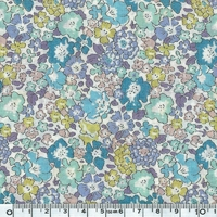 Liberty Michelle bleu violet coloris D 20 x 137 cm