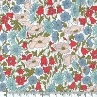 Liberty Poppy Daisy pastel coloris A 20 x 137 cm
