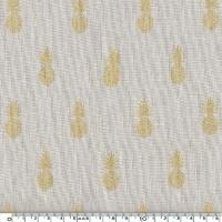 A nana's fabric, lin used beige 20 x 140 cm