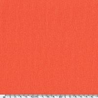 DERNIER COUPON  Crêpe de viscose texturé corail 120 x 140 cm