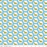 Tissu Fine and Dandy tortues 20 x 110 cm