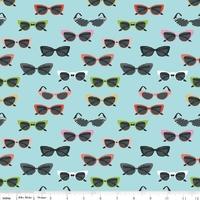 Tissu Novelty lunettes de soleil 20 x 110 cm