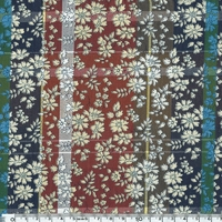 EXCLU Liberty Madras Capel Brun coloris G 20 x 140 cm
