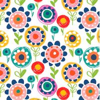 Tissu Secret Garden grosses fleurs 20 x 110 cm