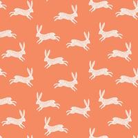Tissu Nature Trail lapins 20 x 110 cm