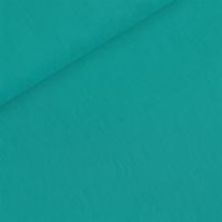 DERNIER COUPON Popeline coloris turquoise 21 x 140 cm