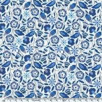 Liberty Bobo bleu coloris D 20 x 137 cm