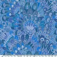 Liberty Eben bleu coloris C 20 x 137 cm