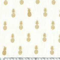 A nana's fabric, voile de polycoton blanc cassé, 20 x 140 cm